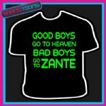 ZANTE LADS HOLIDAY STAG DO PARTY PRINTED TSHIRT